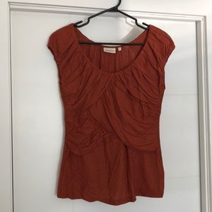 Deletta (Anthro) Pleated Top